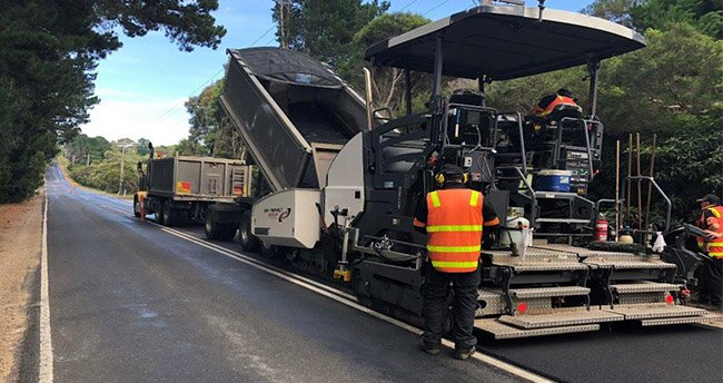 Dynapac Paver enables Melbourne Asphalt Company to achieve smooth results