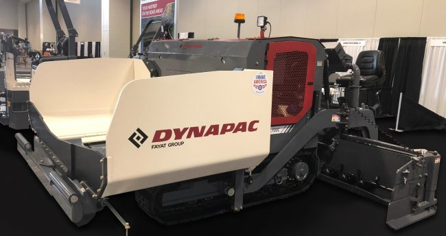 Dynapac takes commercial class paver range to the next level