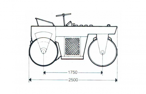 Blueprint side view CG11