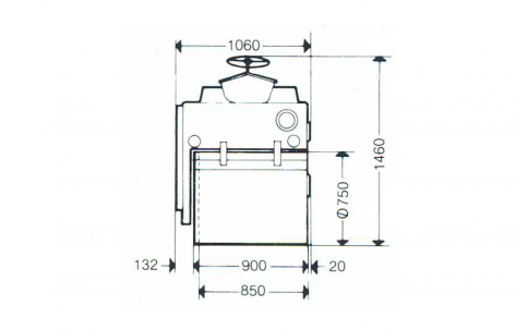 Blueprint top view CG11