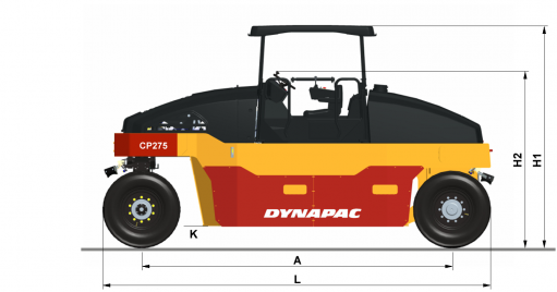 Blueprint side view CP275