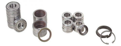 Tamper bearing kits