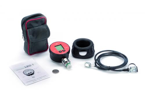 Digital pressure gauge kit