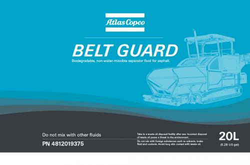 Atlas Copco Belt Guard
