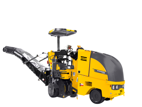 dynapac atlas copco • road construction equipment milling